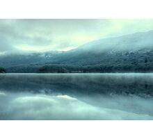 Mist on Coniston Water Photographic Print