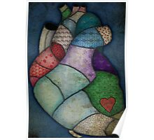 What Heart Are you? - No. 2: Patchwork Heart Poster