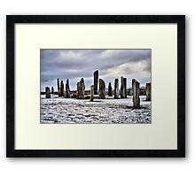 Callanish Standing Stones  Framed Print