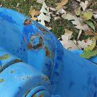 Hydrant blue by dbateman
