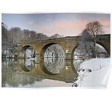 Prebends Bridge Dawn Poster