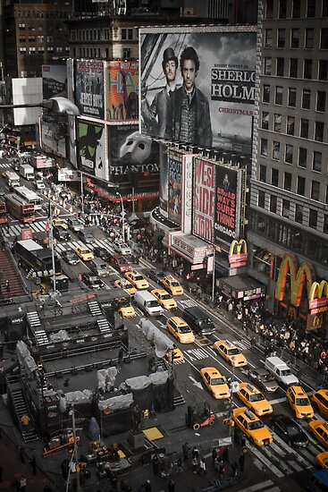 Times Square, New York City by Pieter Dom