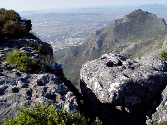 Rugged Terrain atop Table Mountain by Laurel Talabere