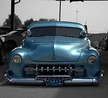 "1951 Metalic Blue Mercury Low Rider ""The Cobra""  by TeeMack"