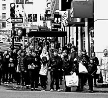 Crowded Corner by aaronarroy