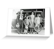 Off To School Greeting Card