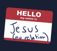 Hi, my name is Jesus by Stuart Stolzenberg