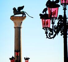 Venice Lamps in Piazza San Marco by HappyMoonlight