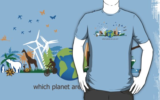 Which Planet Are You On? - version 3 by Sarah Jane Bingham