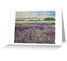 Provence Lavender Greeting Card