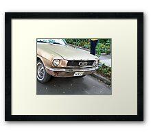 1964 Mustang Framed Print