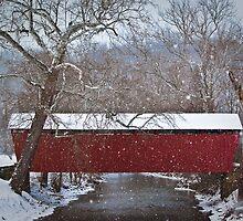 Simpson Creek Covered Bridge by LeeAnne Emrick