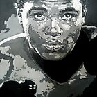 Mohammed Ali iconic pop art piece by artist Debbie Boyle - db artstudio by Deborah Boyle