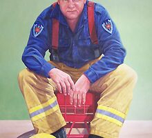 Mick the fireman by Frank5555