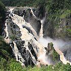 Power and Majesty-Barron Falls Landscape by Jillian Holmes