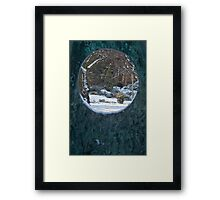 Through The Looking Glass II Framed Print