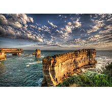 Grandeur - Razorback - Great Ocean Road - The HDR Experience Photographic Print