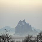 Misty Ship Rock by MrSoundman