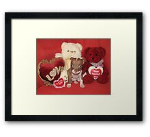 Be Mine Framed Print