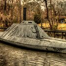 Plymouth, North Carolina - Civil War Ironclad - CSS Albemarle by Terence Russell