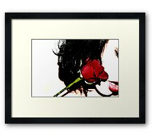 His Mistress......a weakness and a dream.  Framed Print