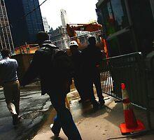 World Trade Center site  by wichwetyl