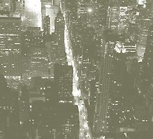 Empire State Building view by wichwetyl
