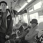 Crowded Bus by ALEX CENTRELLA