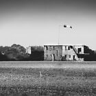 """World War 2 Airfield Derelict Control Tower (""""Still Waiting"""") by johnny2sheds"""