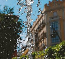 WATER FOUNTAIN MADRID by Scott  d'Almeida
