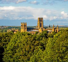 Durham Castle and Cathedral by Jaime Pharr
