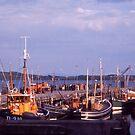 Killybegs Harbour, Donegal, Ireland, cira 1959 by Andrew Jones