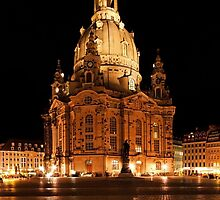 Frauenkirche by WOODU