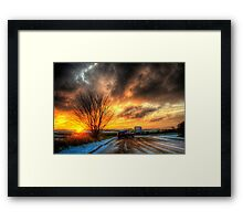 The Big Star Framed Print