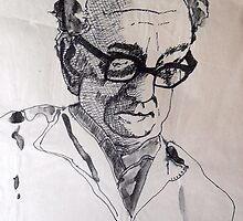 Portrait Study 43. by Richard  Tuvey