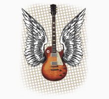 Angel Guitar by Cathie Tranent