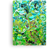 ANAHATA - energies open within me - Canvas Print