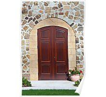 Mansion Doorway Poster