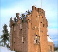 Crathes Castle by Larissa  White Edwards