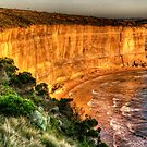 Fractured - Great Ocean Road - The HDR Experience by Philip Johnson