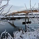 Higher Ferry Bridge, Chester by AnnDixon
