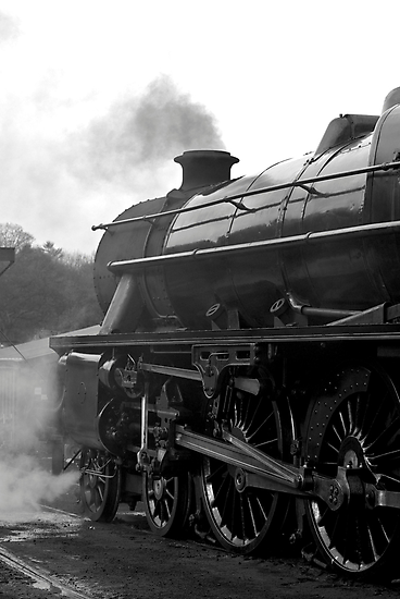 Getting Steam Up by Trevor Kersley