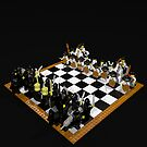 LEGO Chess Set - Samurai vs Knights 3 by geekmorris