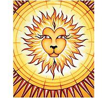 Leo - Shine your light into the world! Photographic Print