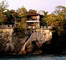 Home on the West End cliffs | Jamaica by marcy413