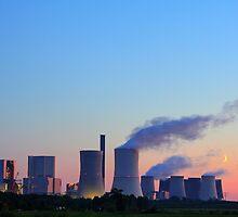 Romantik eines Kohlekraftwerkes by WOODU