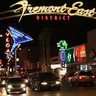 Fremont East in downtown Las Vegas Nevada. USA by RichardKlos