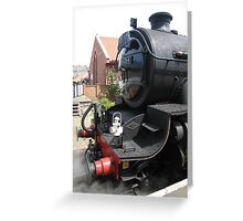 The Whitby Enterprise at... Whitby. Greeting Card