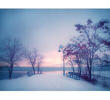 Winter Glow Photographic Print