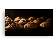 Muffin Time  Canvas Print
